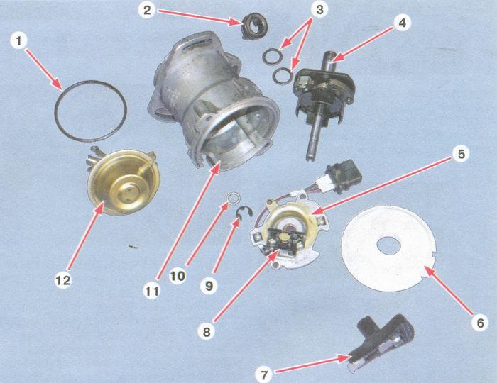 Схема подключения реле зарядки иж юпитер 4 Датчик детонации двигателя ваз 21093.