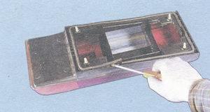 уплотнитель корпуса заднего фонаря