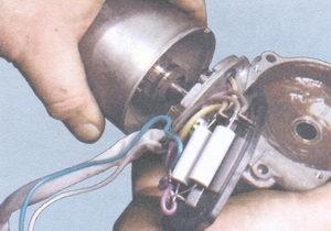 корпус редуктора стеклоочистителя