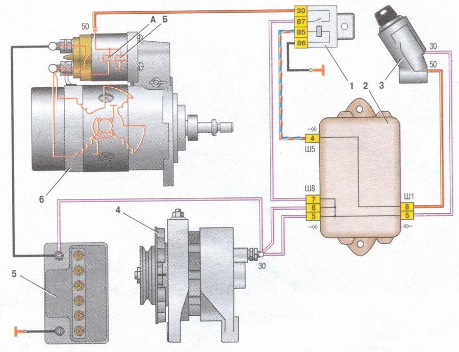 включения электродвигателя