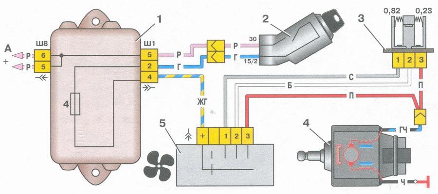 Электродвигатель отопителя салона автомобили ваз 2108 ваз 2109.