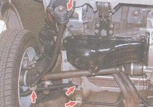 резинометаллические шарниры - резиновые втулки нижних рычагов - стабилизатора - растяжка