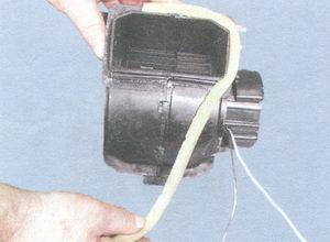 вентилятор отопителя салона ваз 2108, ваз 2109, ваз 21099