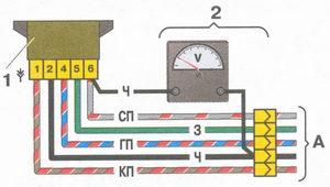 электрическая схема холостого хода