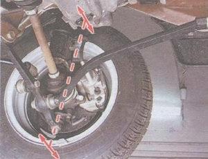 проверка люфта в подшипнике ступицы