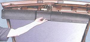 обивка крышки багажника