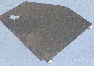 задняя защитная пленка двери с держателями крепления