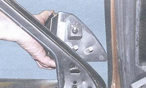 боковое зеркало заднего вида ваз 2108, ваз 2109, ваз 21099