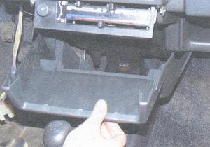 накладка консоли панели приборов