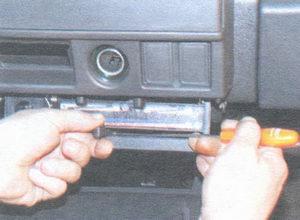 ручки управления отопителем салона