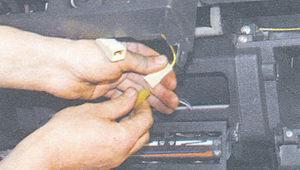 разъем подсветки прикуривателя