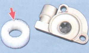 поролоновое кольцо