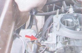 шланг подогрева карбюратора