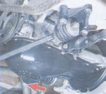 сливная пробка на картере двигателя ваз 2108, ваз 2109, ваз 21099