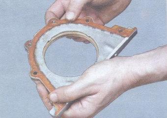 прокладка держателя заднего сальника коленвала