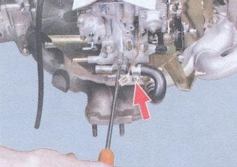 электрическая схема ваз 2108 карбюратор