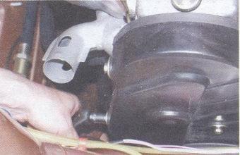 передняя крышка привода распредвала