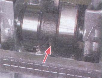 распредвал - толкатель клапана
