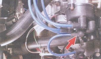 высоковольтные провода - крышка трамблера