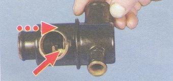 основной клапан термостата
