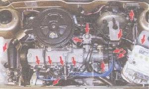 карбюраторный двигатель ваз 2108, ваз 2109, ваз 21099