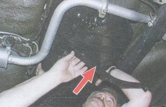 хомут удерживающий бензобак