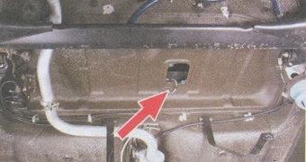 провода датчика уровня топлива