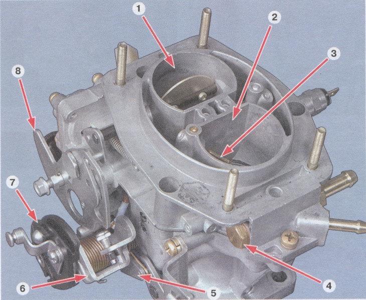 Ваз 2108 2109 21099 воздушный фильтр воздушный фильтр установлен в передней части моторного отсека на резиновых...