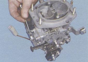 регулировка пускового устройства карбюратора