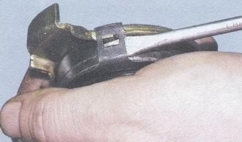 пружинный держатель - выжимной подшипник - муфта