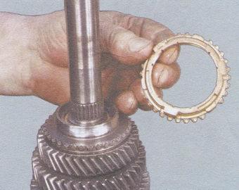 блокирующее кольцо синхронизатора шестерни 3-ей передачи