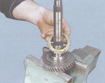 блокирующее кольцо 1-ой передачи