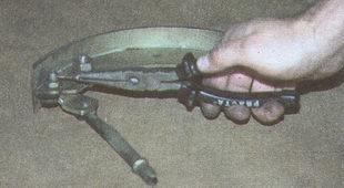 шплинт задней тормозной колодки