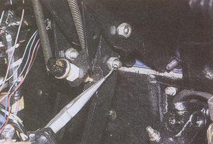шплинт болта-оси толкателя педали тормоза