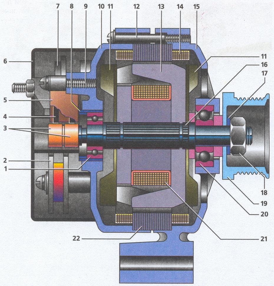 генератор 9422.3701 Волга ГАЗ 31105