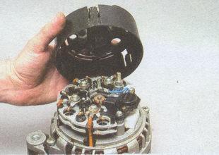 кожух генератора автомобиля Волга ГАЗ 31105