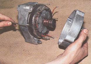 задняя крышка генератора