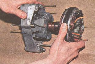 обмотка статор генератора