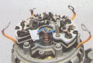провода обмоток генератора ГАЗ 31105