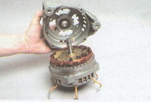 передняя крышка генератора