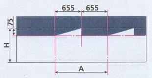 разметка экрана для регулировки света блок фар на автомобиле ГАЗ 31105