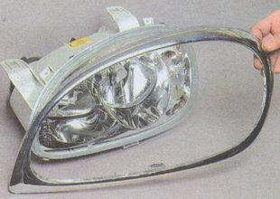 облицовка блок фары ГАЗ 31105