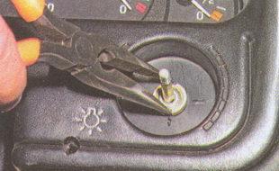 гайка крепления центрального выключателя
