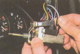 центральный выключатель освещения ГАЗ 31105
