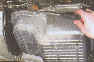 поддон картера блока цилиндров двигателя ЗМЗ 406