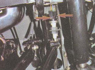 наконечники проводов выводов выключателя сигнала торможения