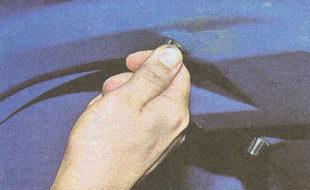 пластмассовые гайки крепления заднего фонаря ГАЗ 31105