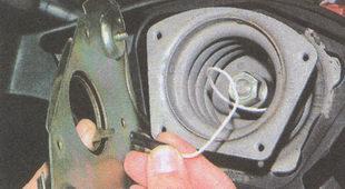 наконечник провода выключателя звуковых сигналов