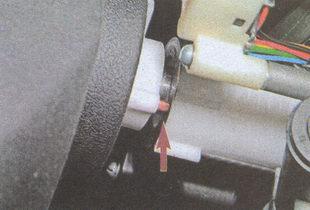 контактное кольцо на рулевой колонке