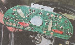 комбинация приборов ГАЗ 31105